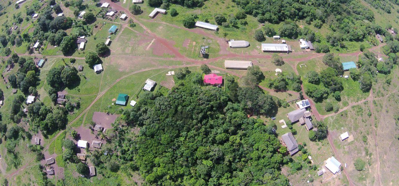 Foto: Dorf von oben - Luftaufnahme