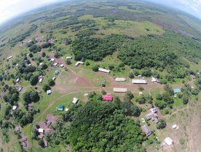 Foto: Dorf von oben (Luftbild)